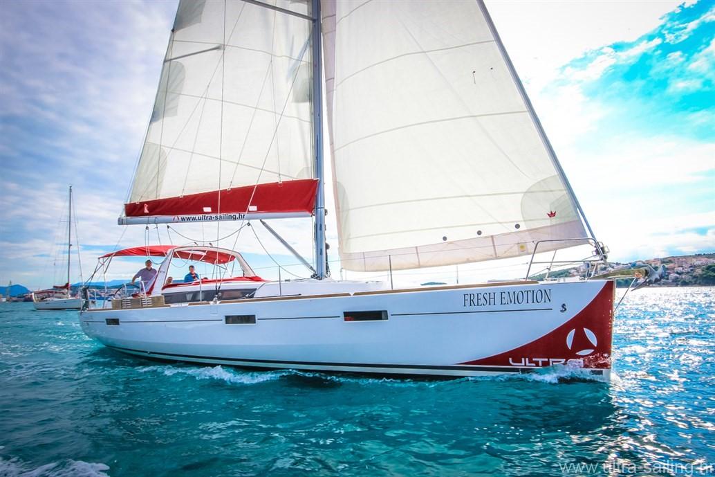 Beneteau Oceanis 45 Ultra Sailing Croatia