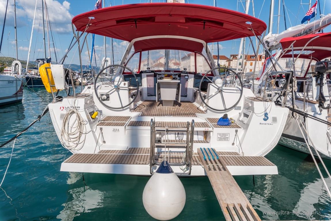 Beneteau Oceanis 45 Yachtcharter Kroatien Ultra Sailing