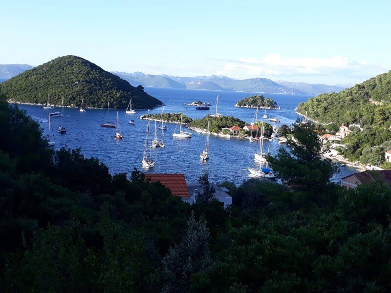 Mljet-national-park-Croatia-ultra-sailing