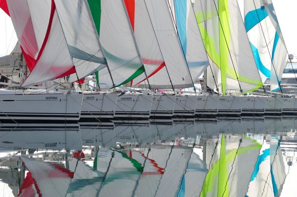 Beneteau Ultra Sailing Fleet in Marina Kastela