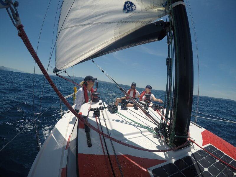 Basic Sailing course - Ultra Sailing school Croatia